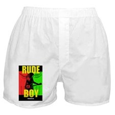 RUDE BOY one sheet Boxer Shorts