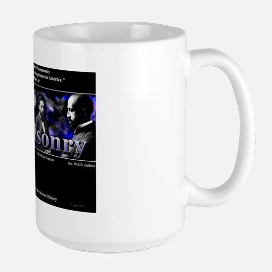 Masonic Footprints 1 Large Mug