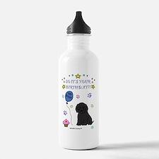 CockapooBlk Water Bottle