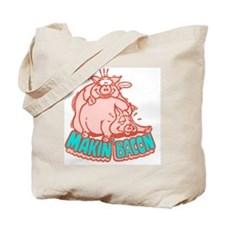 makinbacon2_white Tote Bag