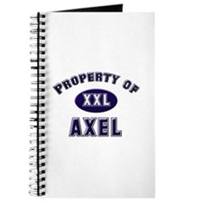 Property of axel Journal