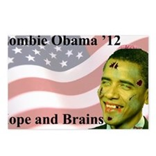 BoldZobama Postcards (Package of 8)