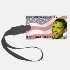BoldZobama Luggage Tag