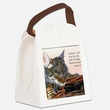 basketcaseCardLazy Canvas Lunch Bag