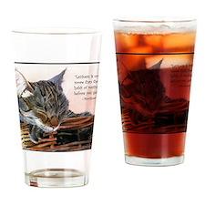 basketcaseCardLazy Drinking Glass
