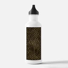 Snake-skin-scales-brow Water Bottle