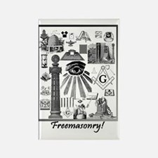 Freemasonry! Rectangle Magnet