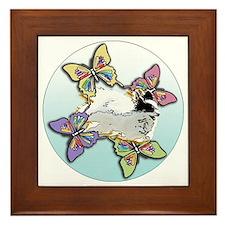 Agility Papillon Framed Tile