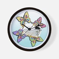 Agility Papillon Wall Clock