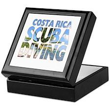 Costa Rica Scuba Diving Keepsake Box