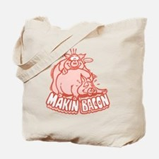 makinbacon2_tran Tote Bag