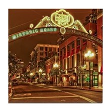 Gaslamp2 Tile Coaster