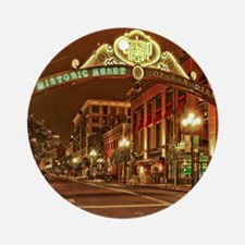 Gaslamp2 Round Ornament