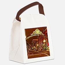 Gaslamp2 Canvas Lunch Bag