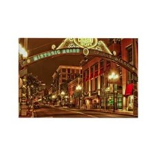 Gaslamp2 Rectangle Magnet