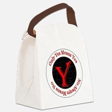 OYMYNAMN-redblack-algerian Canvas Lunch Bag