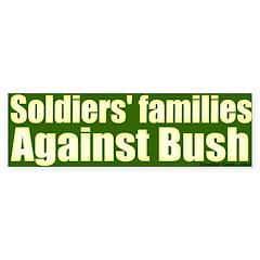 Soldiers' Families Against Bush Bumpersticker