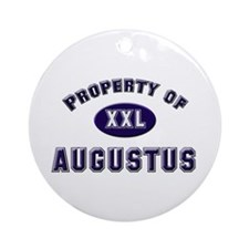 Property of augustus Ornament (Round)