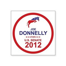 "2012_joe_donnelly_main Square Sticker 3"" x 3"""
