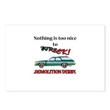 too nice to wreck? Postcards (Package of 8)