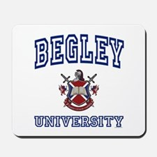 BEGLEY University Mousepad