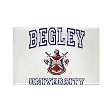 BEGLEY University Rectangle Magnet