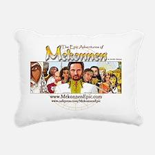 MekonnenTitle-Entourage3 Rectangular Canvas Pillow