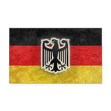 Oktoberfest German Eagle Cres Rectangle Car Magnet
