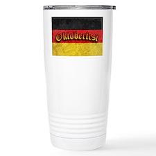 Oktoberfest German Deutsch Flag Travel Mug