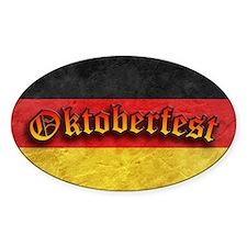 Oktoberfest German Deutsch Flag Fes Decal