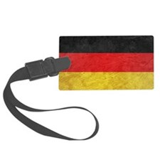 Oktoberfest German Deutsch Flag  Luggage Tag