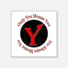 "OYMYNAMN-borderless Square Sticker 3"" x 3"""