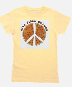 pizzachance_2_button Girl's Tee