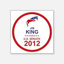 "2012_jim_king_main Square Sticker 3"" x 3"""