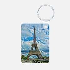 9.5x8_Eiffel Aluminum Photo Keychain