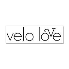 velo love Car Magnet 10 x 3