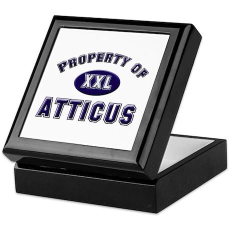 Property of atticus Keepsake Box