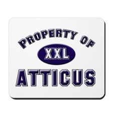 Property of atticus Mousepad