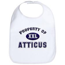 Property of atticus Bib