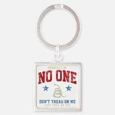 Prop No One -dk Square Keychain