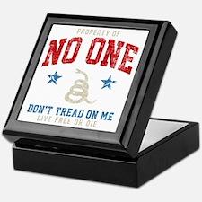 Prop No One -dk Keepsake Box