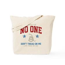Prop No One -dk Tote Bag