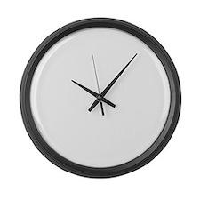 soa_a(blk) Large Wall Clock
