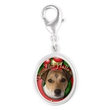 DeckHalls_Jack_Russell Silver Oval Charm