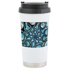 Bubble Fractal Travel Mug
