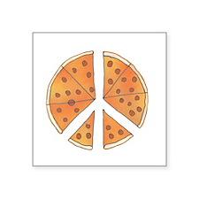 """pizzachance_2_dark Square Sticker 3"""" x 3"""""""