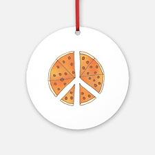 pizzachance_2_dark Round Ornament