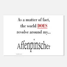 Affenpinscher World Postcards (Package of 8)