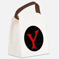 Y-circle Canvas Lunch Bag