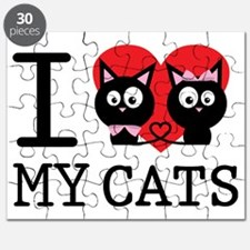 I LOVE MY CATS2 Puzzle